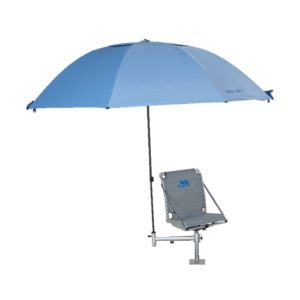 45 INCH BISON BROLLY UMBRELLA WITH ZIP ON SIDES